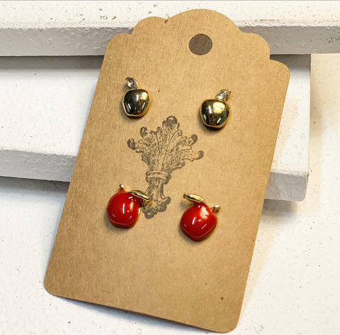 Apple of My Eye Earring Set