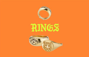Amazing incredibly comfortable, stackable, and lightweight, every day rings. Each piece is inspired by and named after an important woman in my life.