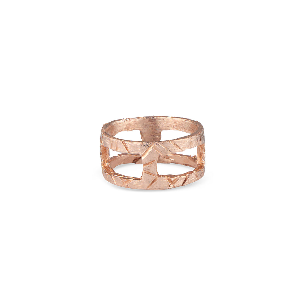 14k Rose Gold Kathleen Ring