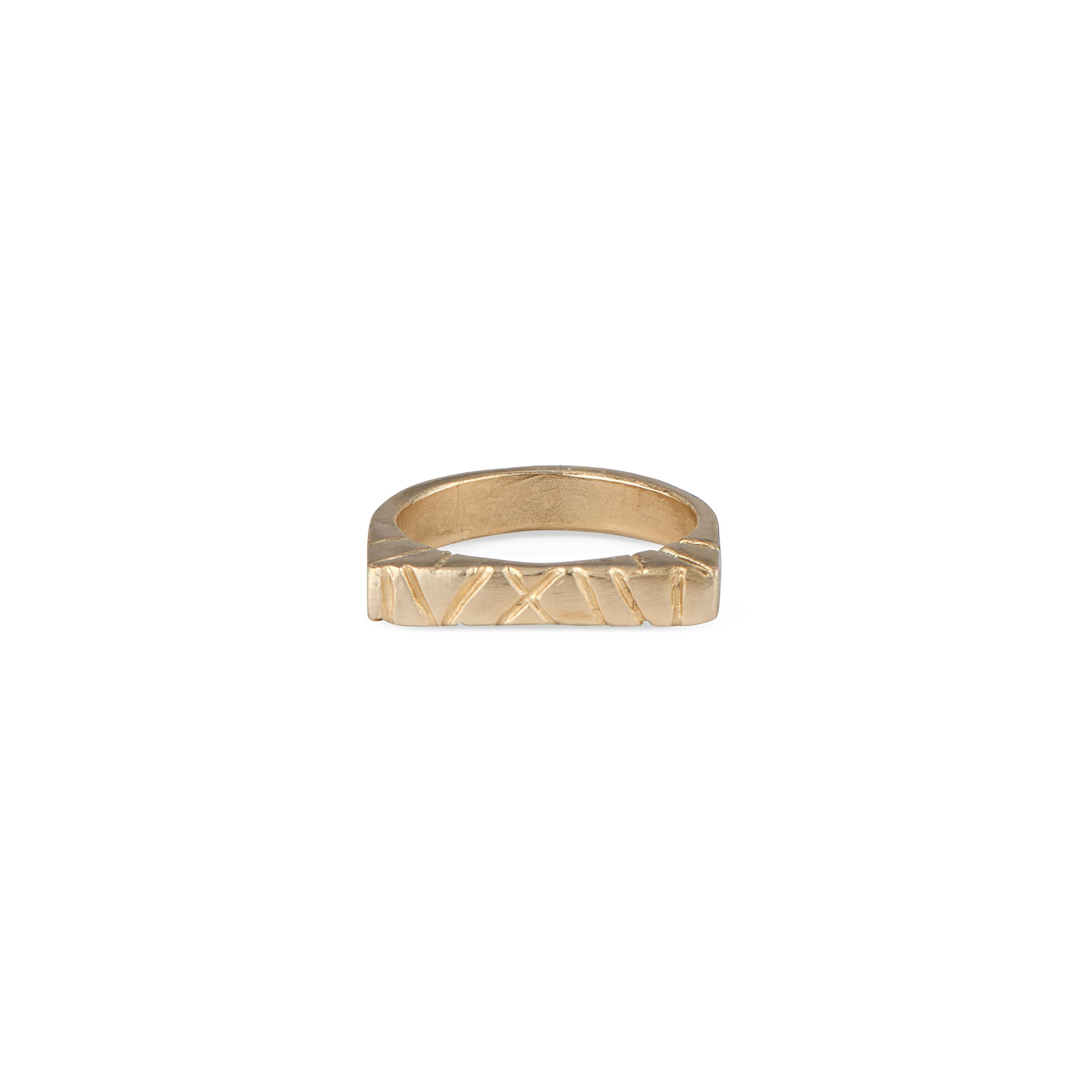 The Natalie McMillan 14k flat top is an amazing every day ring! It is incredibly comfortable, stackable, and lightweight. As always, it is handcrafted from start to finish and is a truly unique piece.