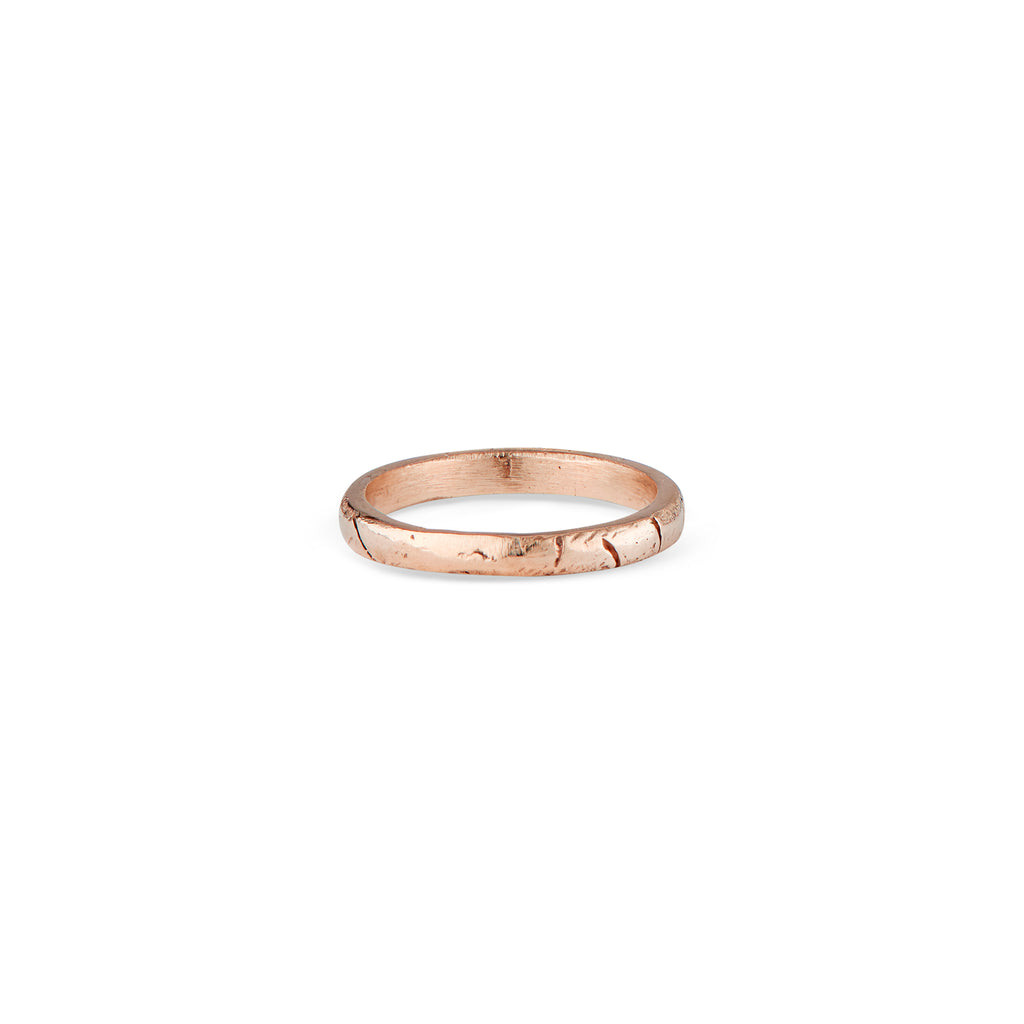 14k Rose Gold Liz Band