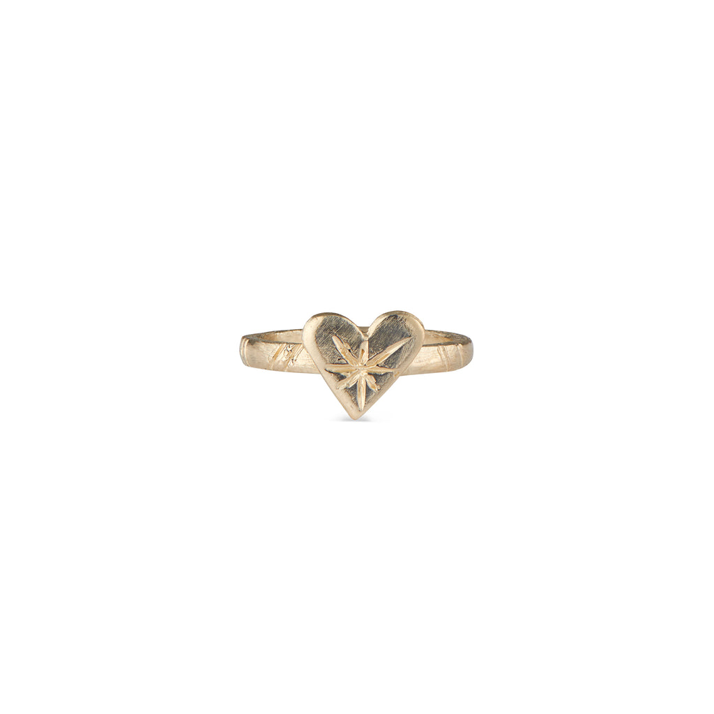 14k Gold Harte Ring