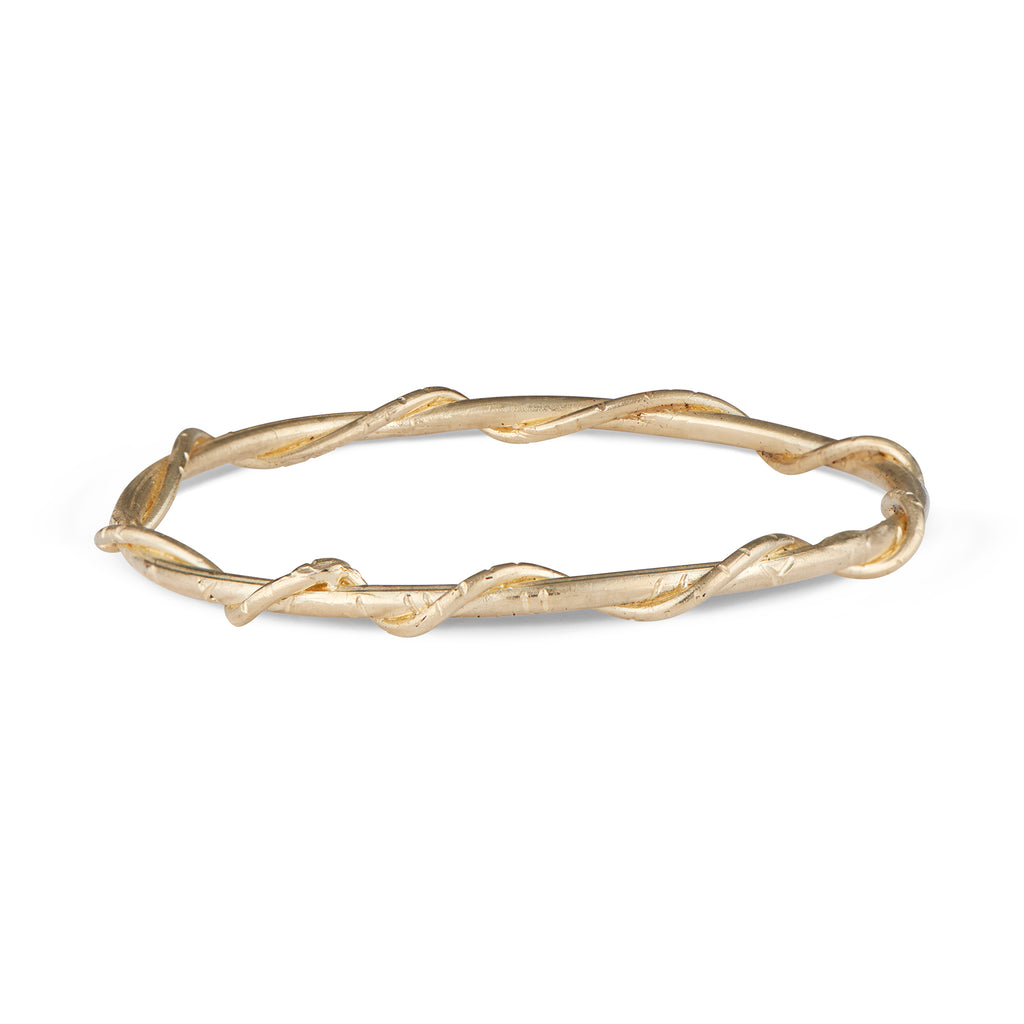 14k Gold Marina Bangle