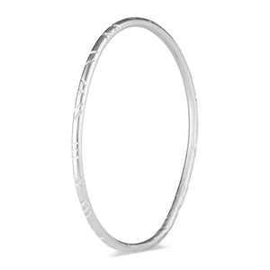 Sterling Silver Emily Bangle