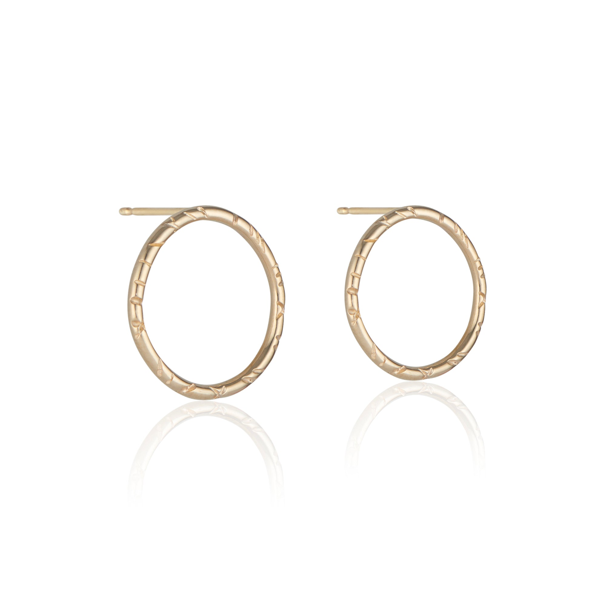 Chic, understated, and a touch of fun, the Madeline Earrings by Natalie McMillan are an incredibly comfortable pair of studs that can be dressed up or down for truly any occasion. They are the perfect pair to wear to the office, or out on the town!