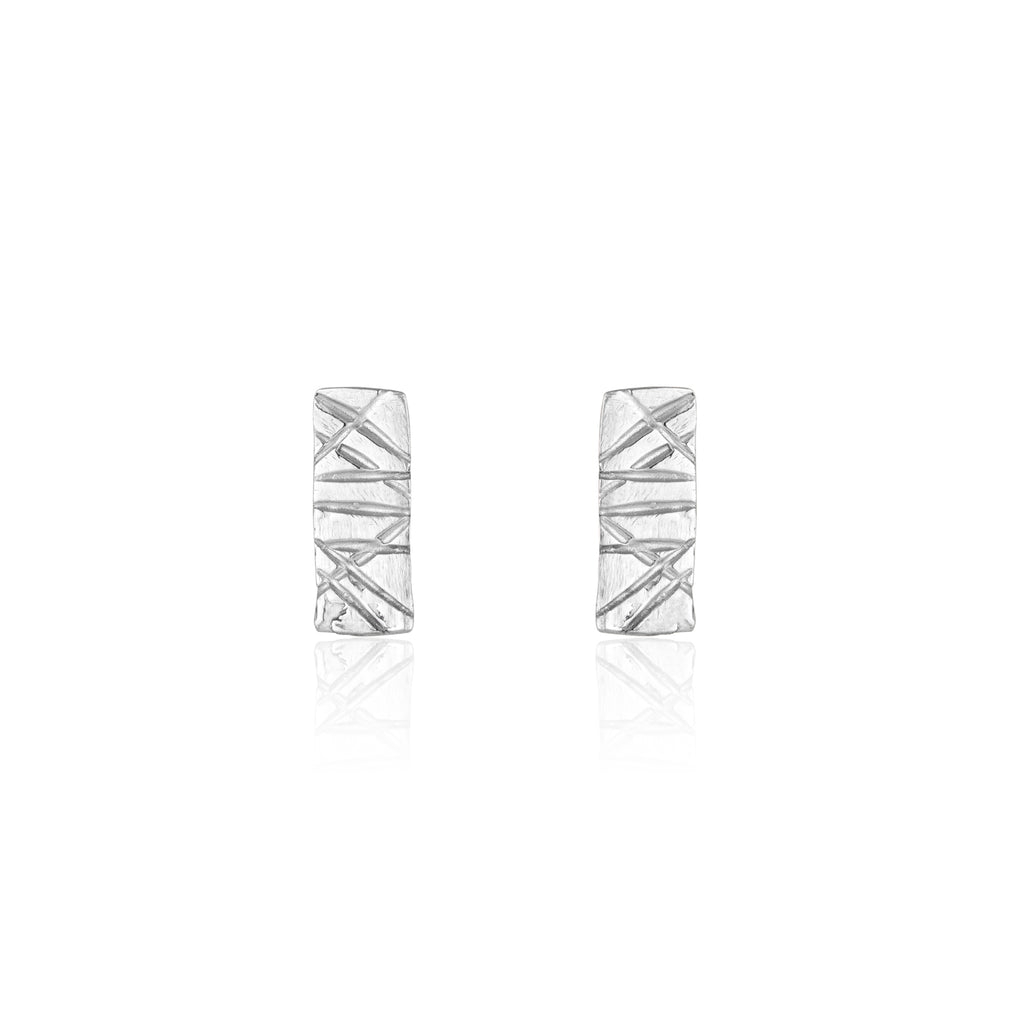 Sterling Silver Jackie Studs