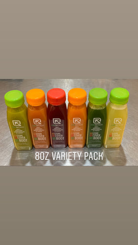 8oz Variety Pack (6 juices)