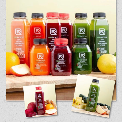 Reboot (7 days 3 juices a day)