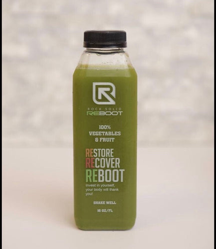 Strong Green Juice 16oz with a hint of lemon (SGJ)