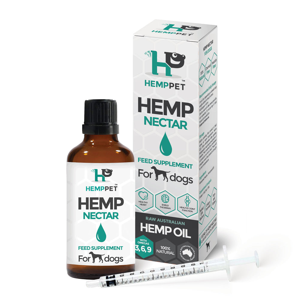 HempPet Hemp Oil Nectar for dogs, CBD