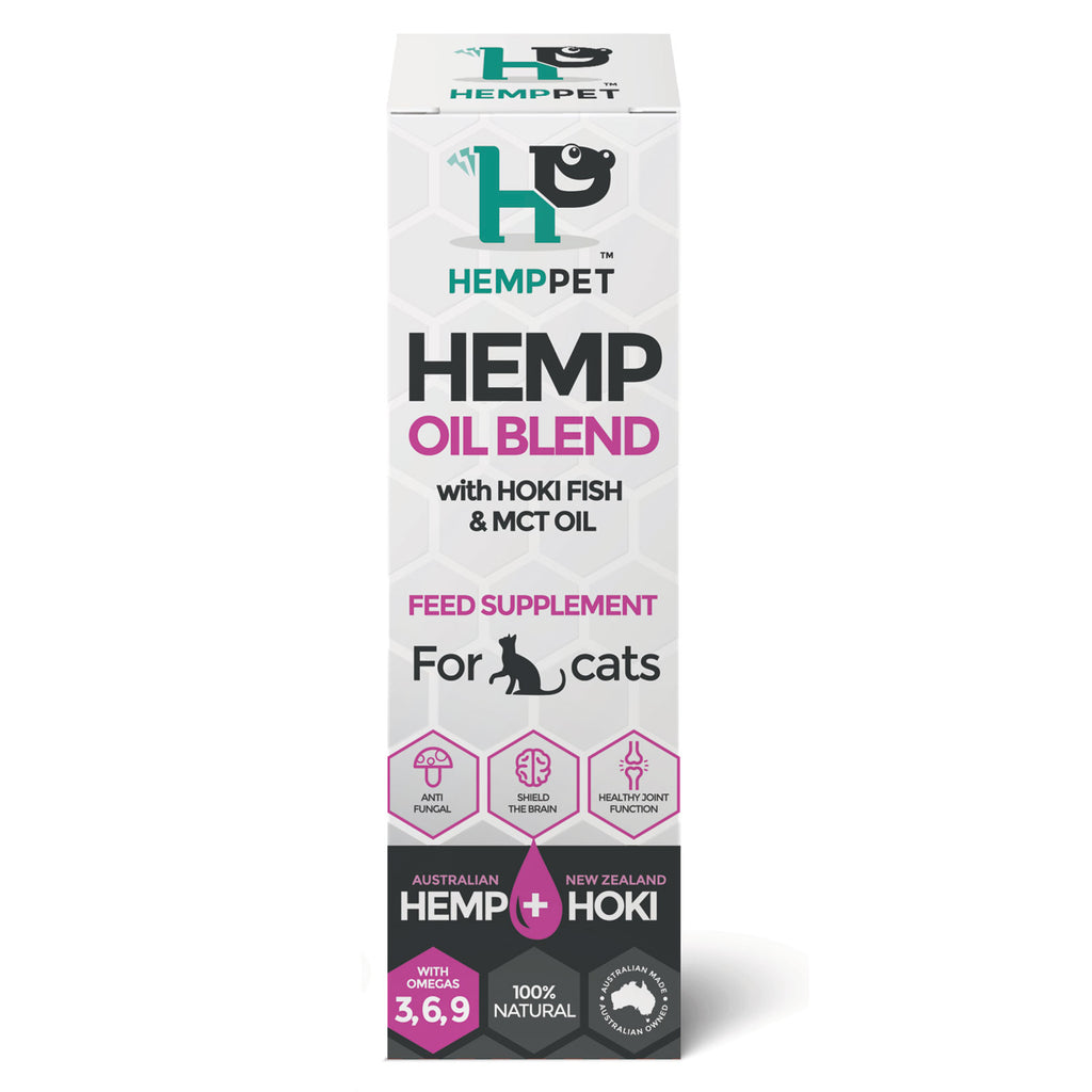 HempPet, Cat Hemp Oil, MCT Coconut, Hoki Fish Oil