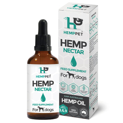 HempPet, Hemp Nectar, Raw Australian Hemp Oil for Dogs, Omega369, cbd