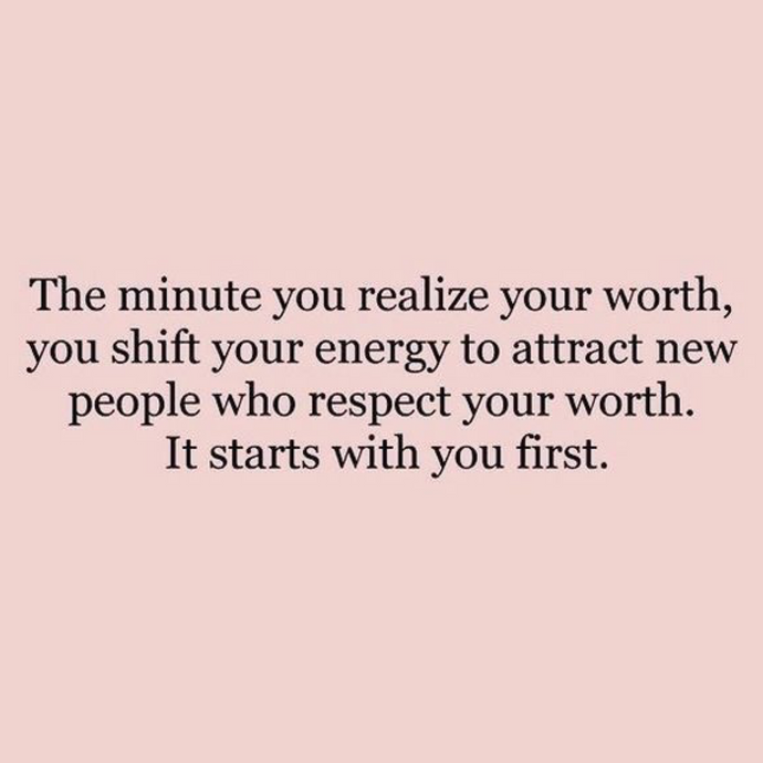160. Know your worth 💜