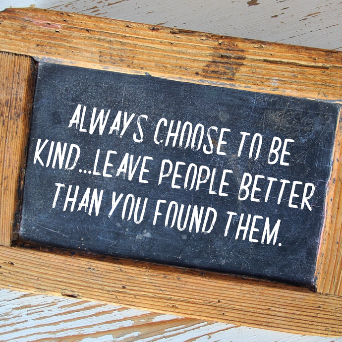 166. Choose to be kind 💜