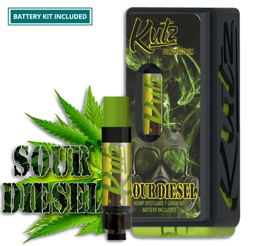 Sour Diesel CBD Oil Child Proof - <b>1 Gram </b>