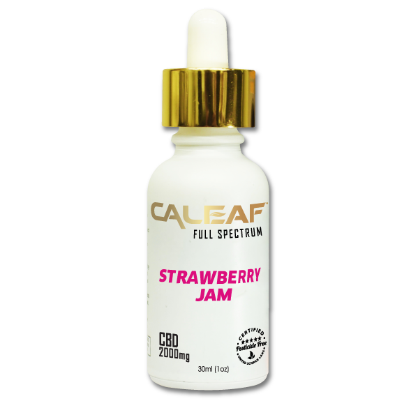 Strawberry CBD Tincture - <b>2000mg</b>