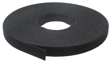 "1/2"" Black Velcro One Wrap"