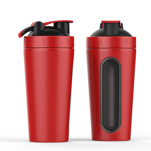 Stainless Steel Sports Protein Shaker/Water Bottle
