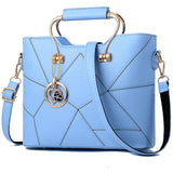 PU Leather Handbag w/Detachable Shoulder Strap - 7 Colors (FREE SHIPPING)