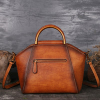 Genuine Leather Luxury Retro Handbag w/Shoulder Strap - 3 Colors (FREE SHIPPING)
