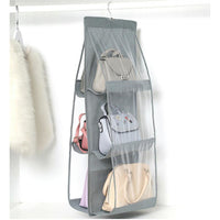 Foldable Hanging Purse Storage Bag - Fits 6 Bags - 7 Colors (FREE SHIPPING)