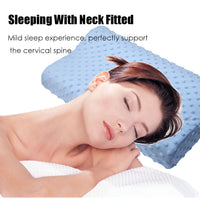 Slow Rebound Memory Foam Orthopedic Neck Pillow for Cervical Health (FREE SHIPPING)
