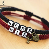 His and Hers Braided Couples Bracelets (FREE SHIPPING)