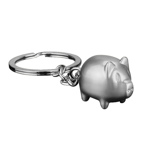 Cartoon Pig Metal Keychain (FREE SHIPPING)