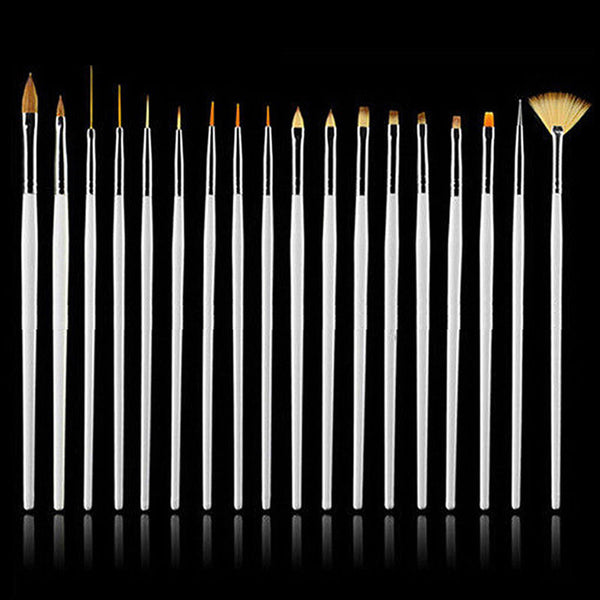 DIY Nail Art Decor Brush Set - 15 Pieces (FREE SHIPPING)