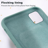 Liquid Silicone Mobile Phone Case w/AirPod Pocket for iPhone - 12 Colors (FREE SHIPPING)