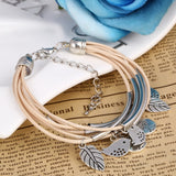 Handmade Multi-Layer Tibetan Silver Bracelet - 4 Colors (FREE SHIPPING)