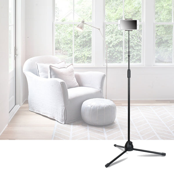 Ultra Stable Tripod Floor Stand Mobile Phone Holder FREE SHIPPING)