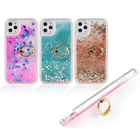 Liquid Quicksand Glitter Mobile Phone Case w/Ring Holder/Stand for iPhone - 7 Colors (FREE SHIPPING)
