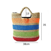Striped Summer Tote Bag (FREE SHIPPING)
