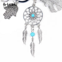 Artilady Natural Stone Dreamcatcher Keychain (FREE SHIPPING)