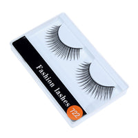 Natural Look Long Soft Reusable False Eyelashes (FREE SHIPPING)