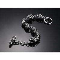 Stainless Steel Skull Bracelet for Men (FREE SHIPPING)