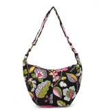 Vegan Boho Flower Print Crossbody Bag (FREE SHIPPING)