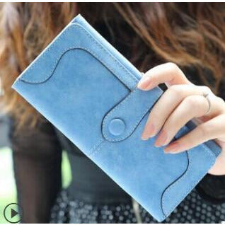 Lung Faux Leather Clutch Wallet