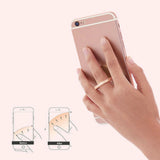 Universal 360° Rotating Finger Ring Grip/Stand for Cell Phones (FREE SHIPPING)