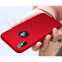 360 Degree Full Cover Mobile Phone Case For iPhone - 6 Colors (FREE SHIPPING)