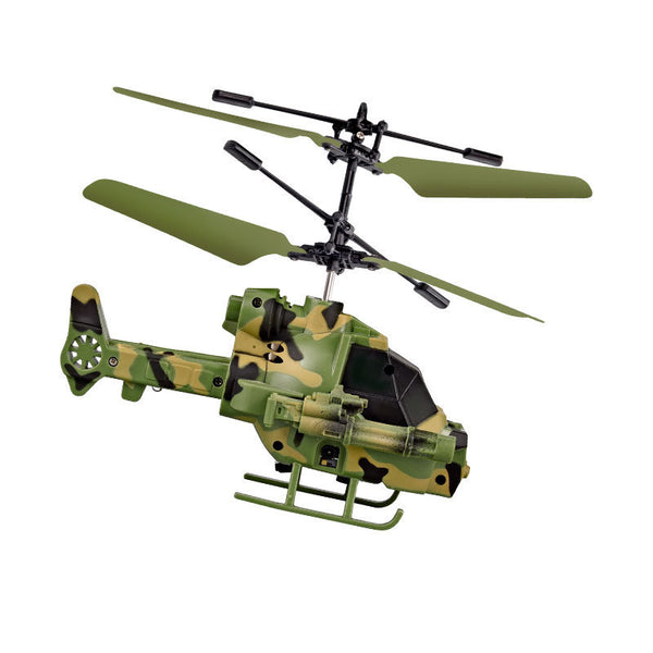 Intelligent Induction Helicopter with or without Remote Control (FREE SHIPPING)