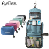 Hanging Foldable Travel Cosmetic and Toiletry Organizer Pouch (FREE SHIPPING)