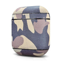Genuine Leather Camouflage Case For Apple AirPods (FREE SHIPPING)