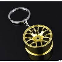 Car Rim Keychain - 3 Colors to Choose From (FREE SHIPPING)