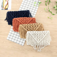 Cotton Tassels Woven Crossbody Bag - 7 Colors (FREE SHIPPING)