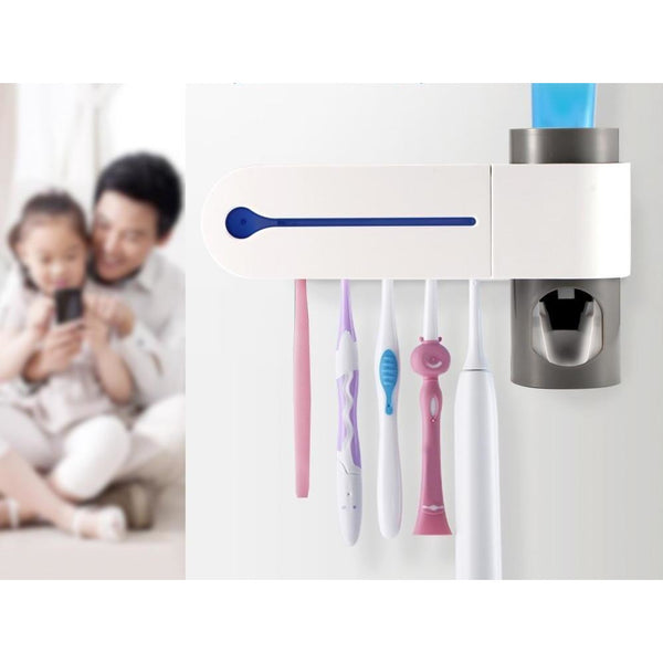 Antibacterial Ultraviolet Toothbrush Sterilizer (FREE SHIPPING)