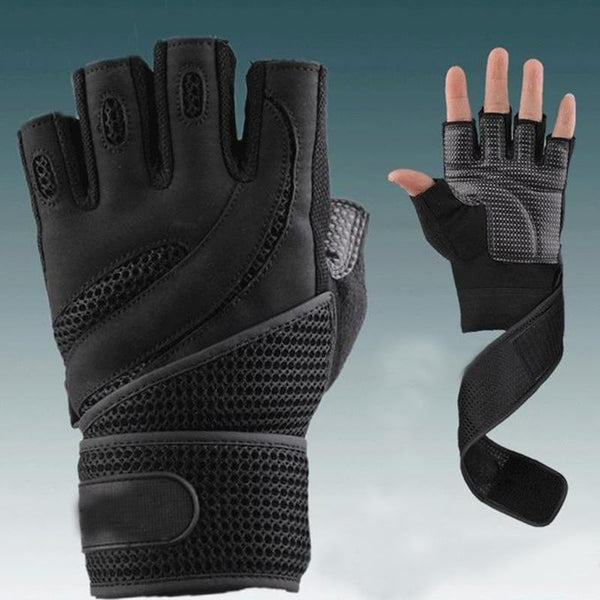 Men's Body Building Fitness Gloves - 2 Colors (FREE SHIPPING)