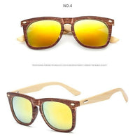Bamboo Polycarbonate UV400 Sunglasses - 5 Different Colors (FREE SHIPPING)