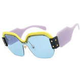 Half Frame UV400 Sunglasses - 4 Colors to Choose From (FREE SHIPPING)